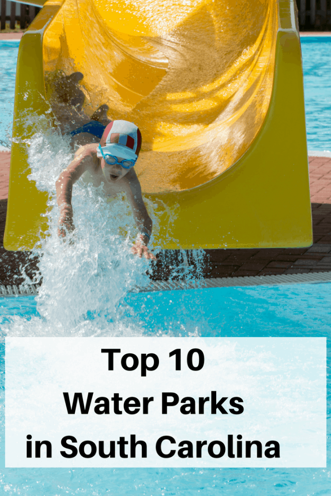 Top 10 Water Parks in South Carolina