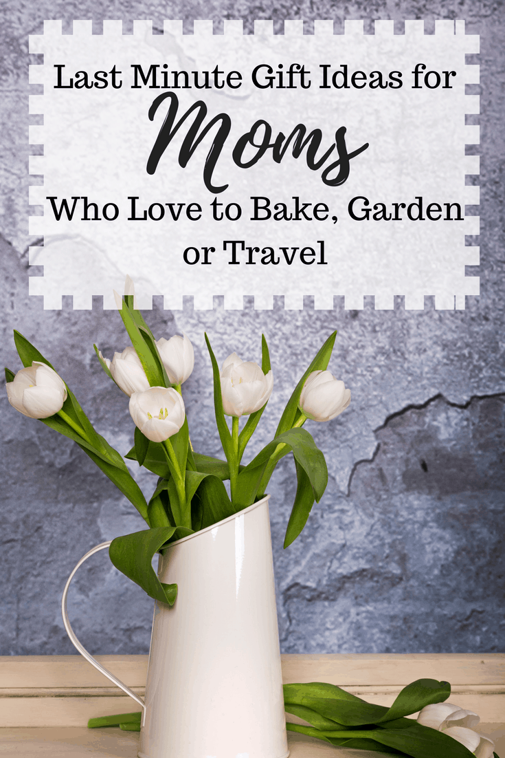 Last minute gift ideas for moms who love to bake garden for Last minute vacation ideas