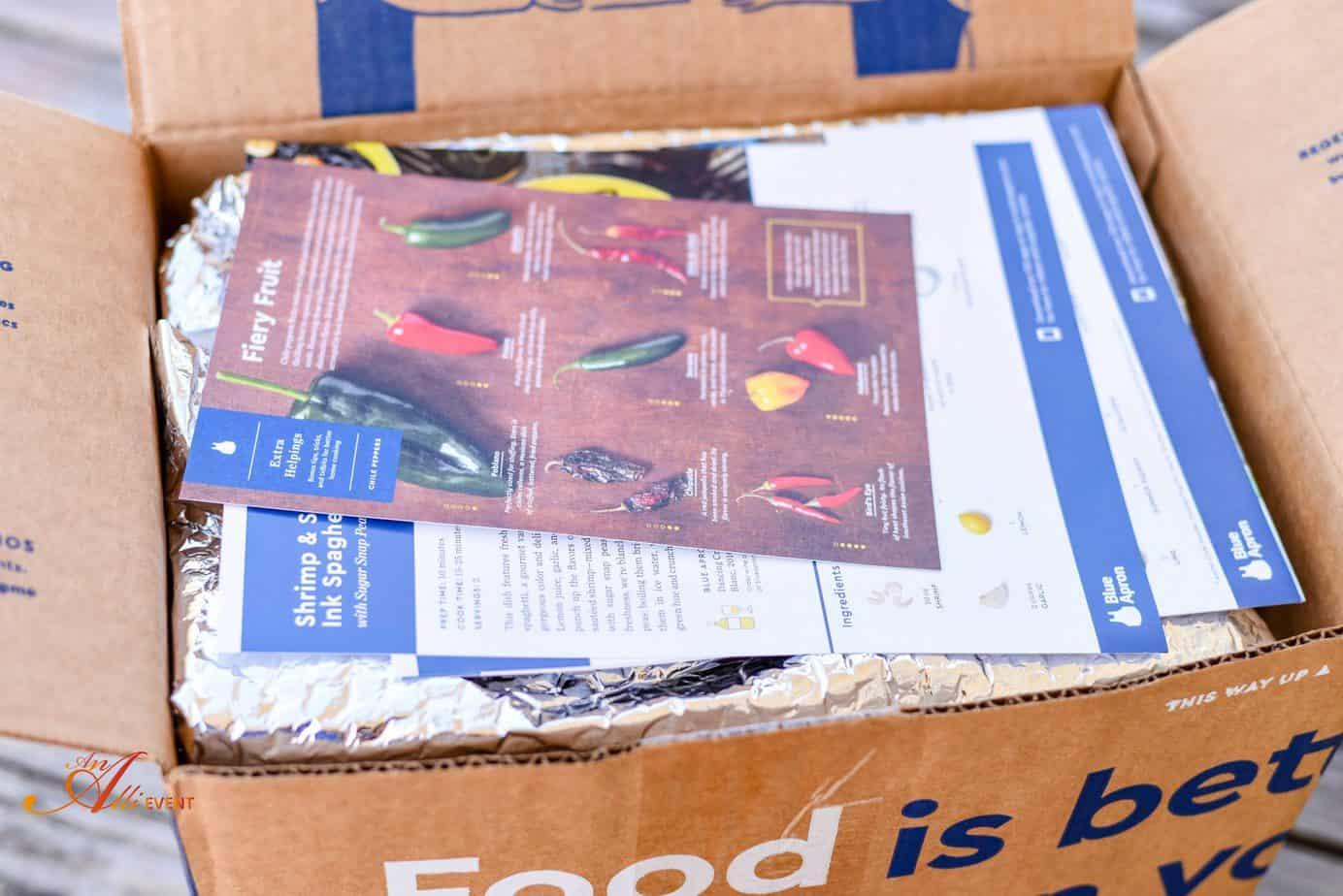 Blue apron fails - Blue Apron Delivery