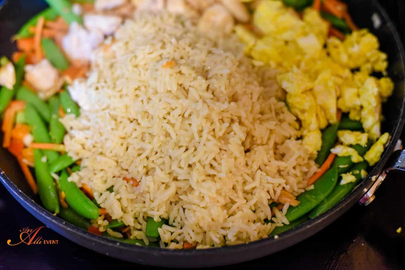 How to make easy chicken fried rice an alli event how to make chicken fried rice ccuart Images