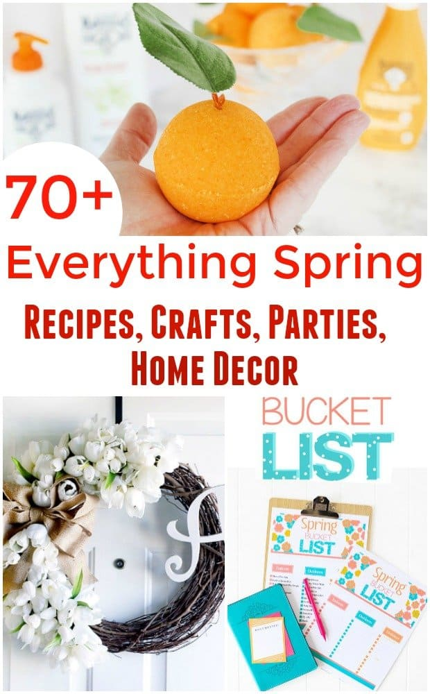 Spring Desserts - Everything Spring