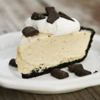 No-Bake Peanut Butter Pie with Oreo Crust