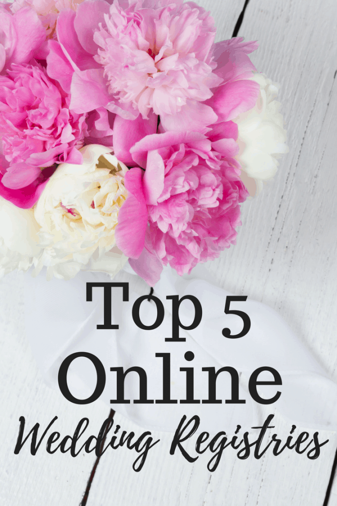 Top 5 Online Wedding Registries