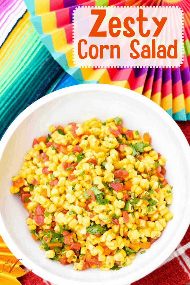 Easy Zesty Corn Salad