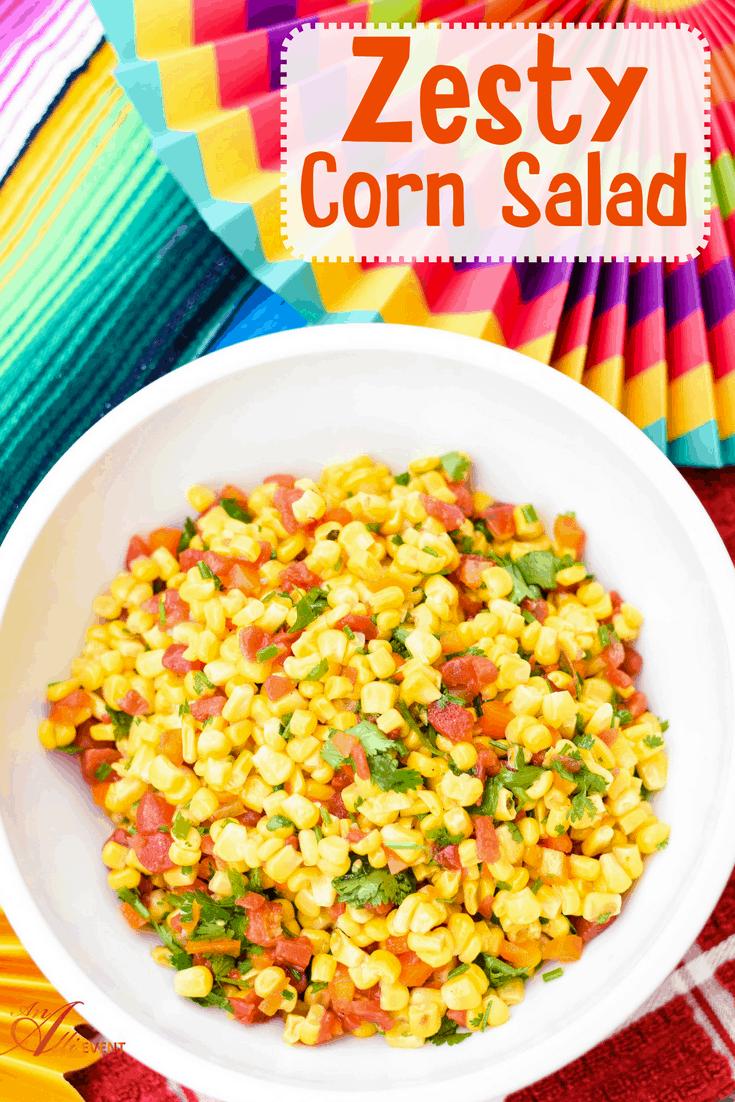 how to make corn and apple salad