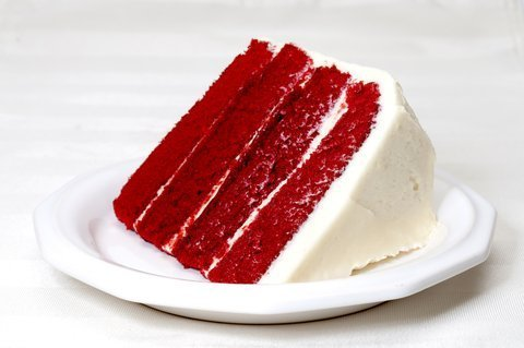 Red Velvet Cake and Red Velvet Cupcakes are a favorite any time of the year