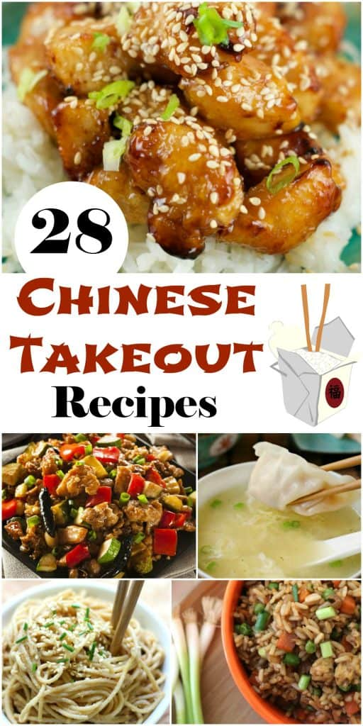 28 Chinese Takeout Recipes