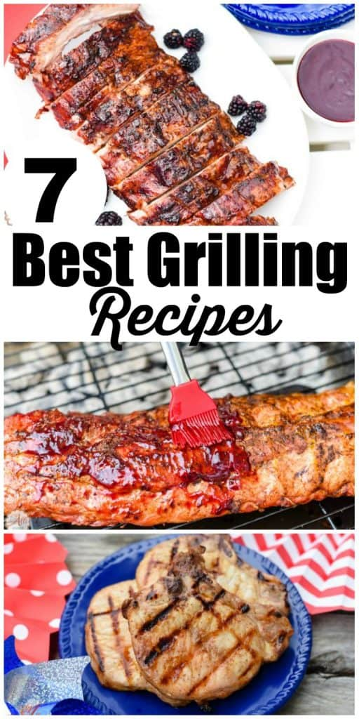 My top 7 best grilling recipes are great to have on hand for your next cookout. These grilling recipes have been tested time and again and remain my top shared recipes. Try one or try them all.