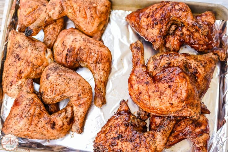 Grilled Barbecue Chicken
