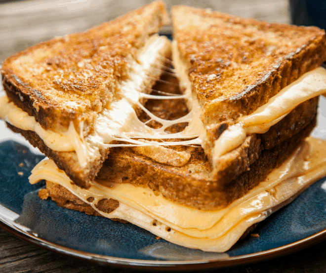 Grilled Cheese Sandwich - Family Dinners