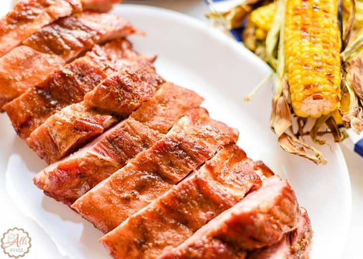 Ginger Lime Grilled Ribs