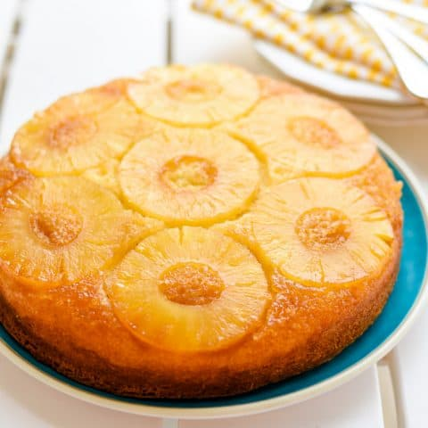 Italian Cream Cake and Pineapple Upside Down Cake