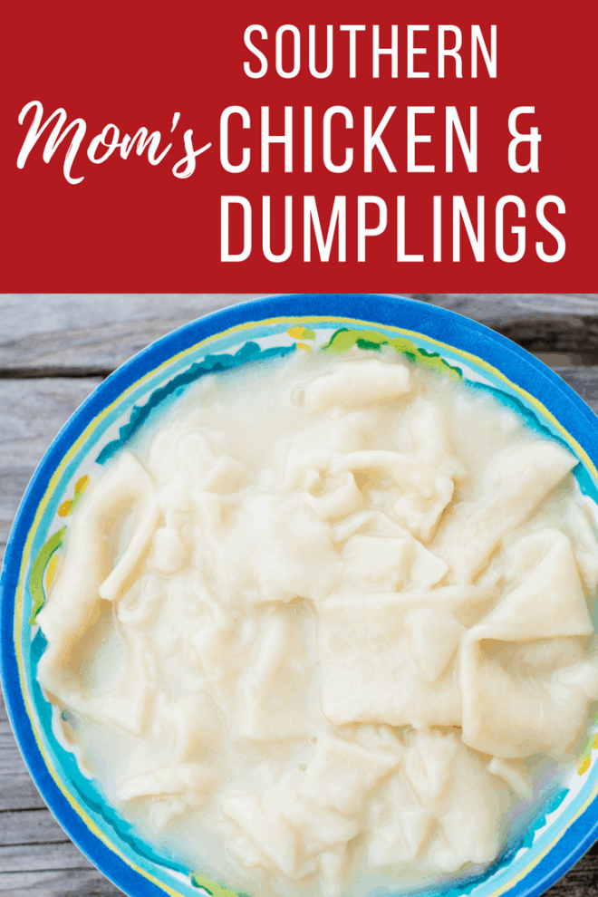 Mom's Southern Chicken and Dumplings