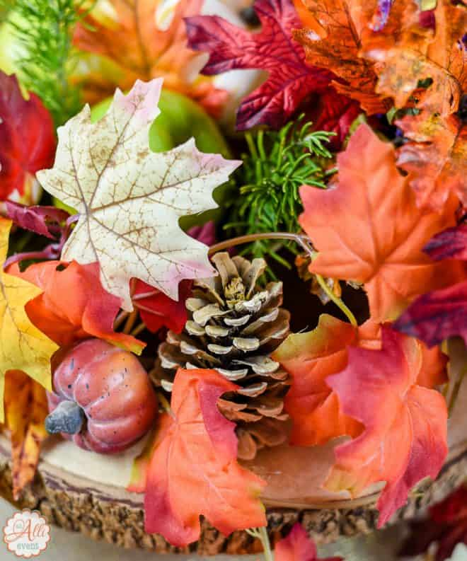 Bleached Pinecone - Fall Tablescape