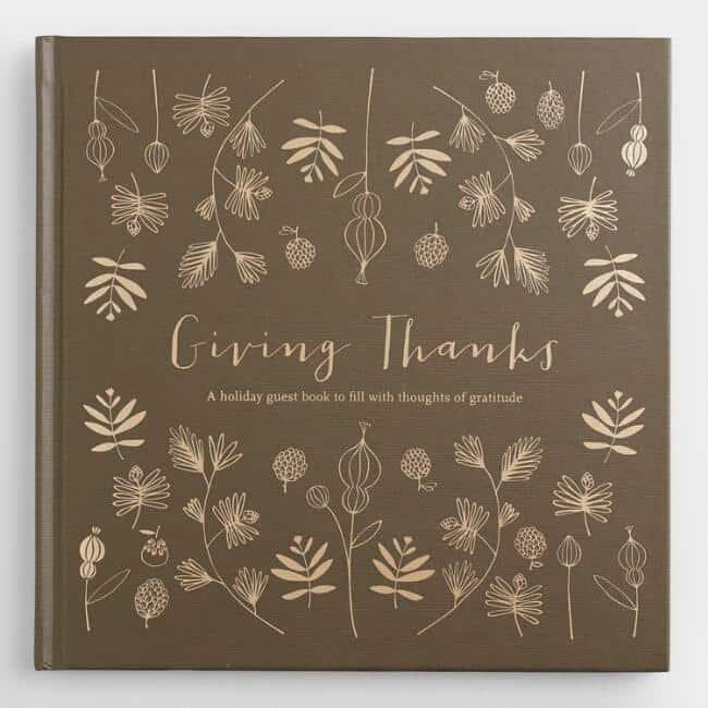 Guest Book - How to Create a Beautiful Thanksgiving Table