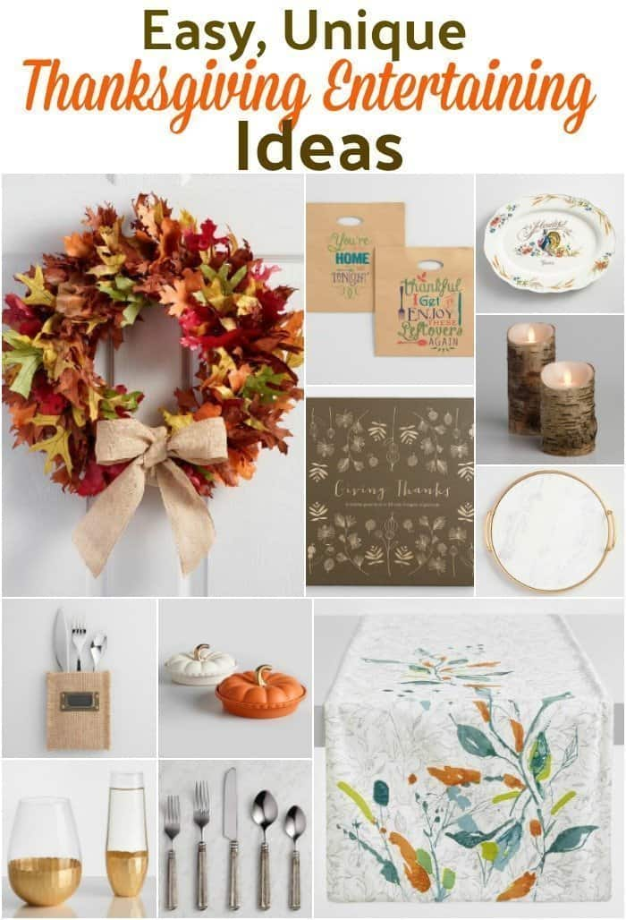 Entertaining Ideas thanksgiving entertaining made easy with 12 unique ideas - an alli