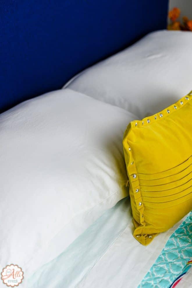 Bedside Basket for Holiday Guests