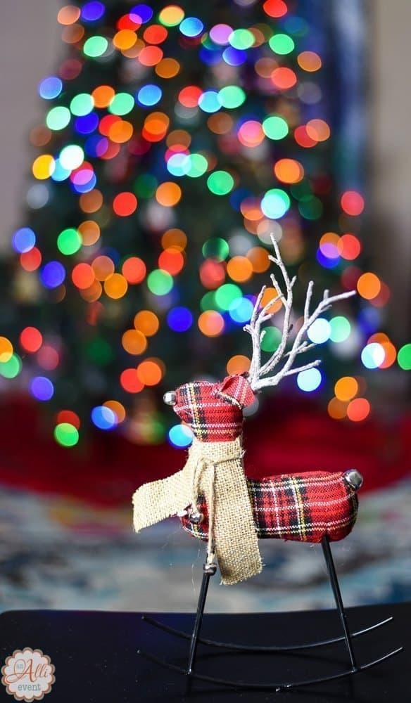 How to Blur LED Christmas Lights on Tree