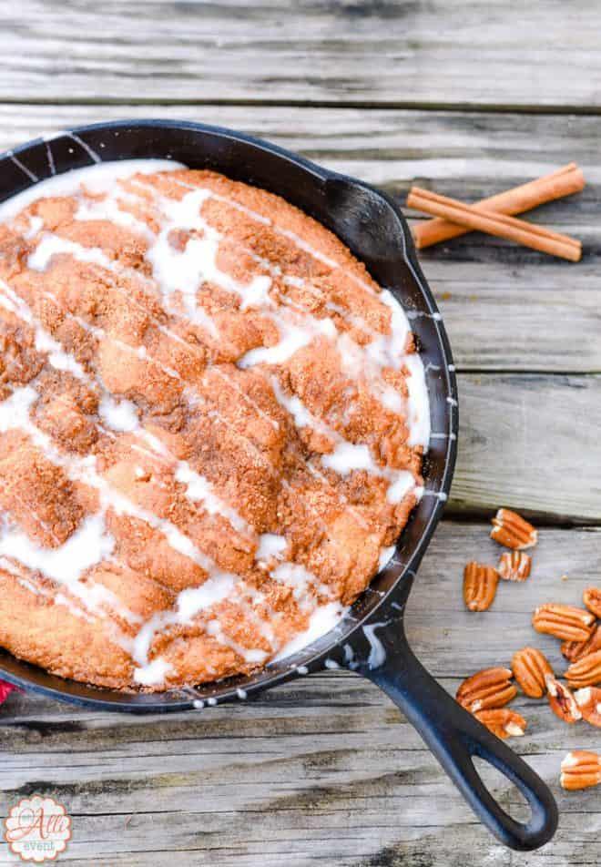 How to Make Carolina Skillet Cake