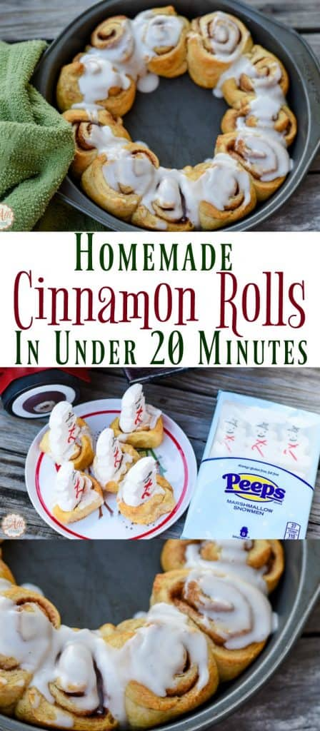 Once you make these Cinnamon Rolls, you will want to make them over and over. They begin with crescent rolls and are ready in under 20 minutes.