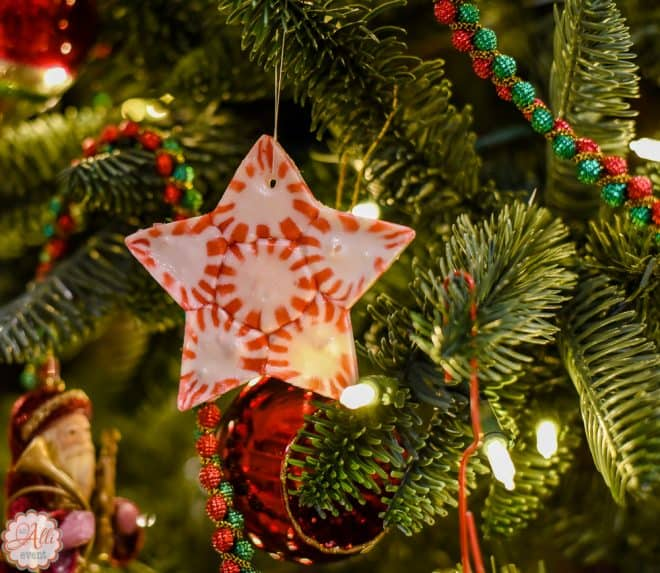 How to Make DIY Peppermint Candy Christmas Ornaments