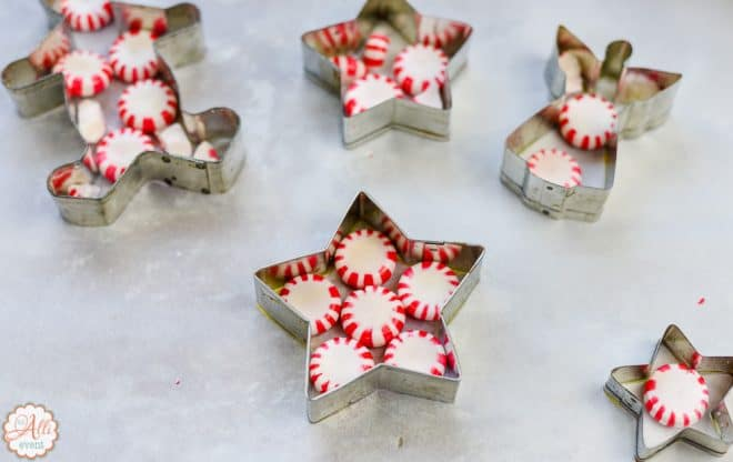 how to make diy peppermint candy ornaments - Peppermint Candy Christmas Ornaments