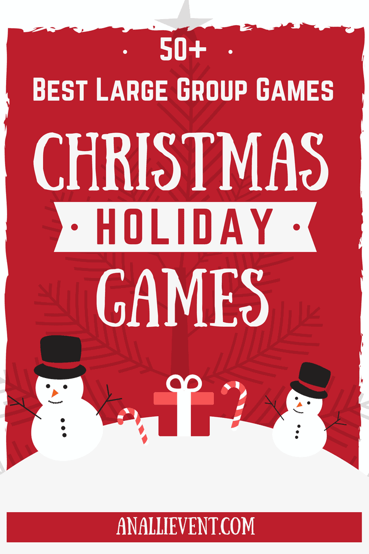 picture regarding Printable Trunk Party Games called Ideal Xmas Video games for Superior Types - An Alli Function