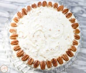 Italian Cream Cake - Favorite Desserts