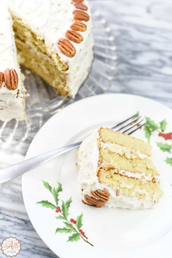 Italian Cream Cake and Carolina Skillet Cake