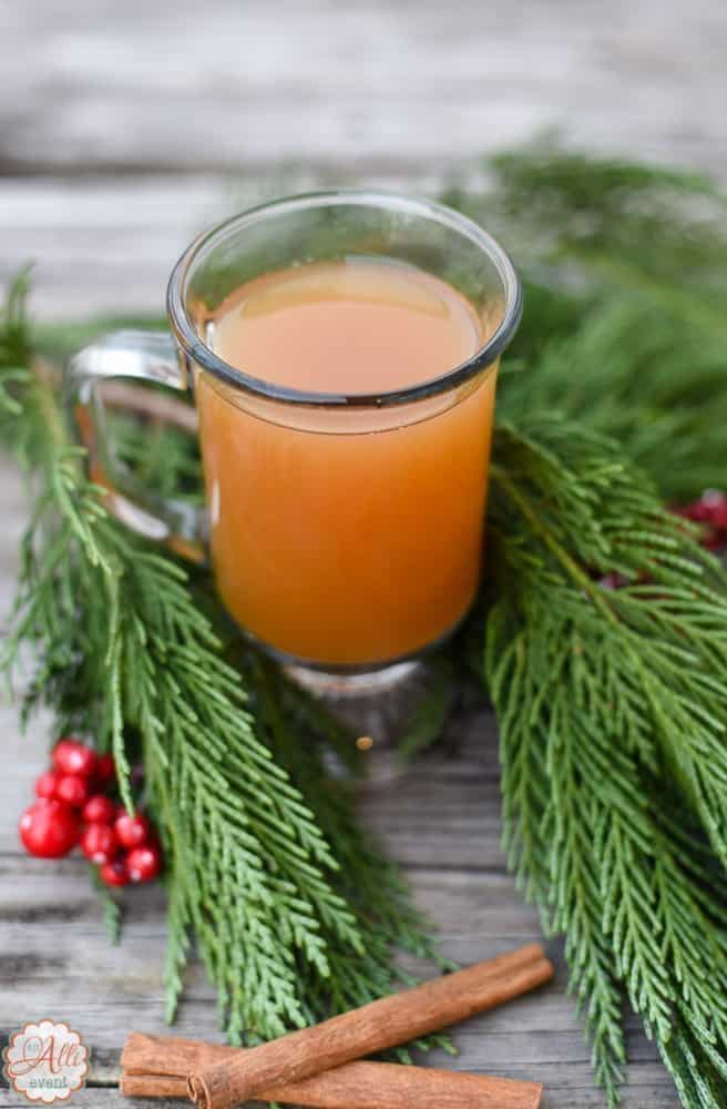 Russian Tea is easy to make and guests will enjoy drinking the warm beverage.
