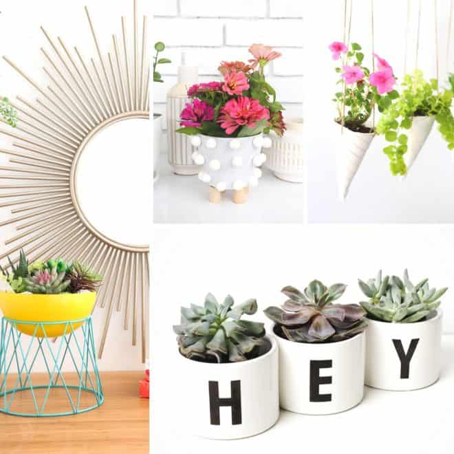 20 Unique DIY Planters