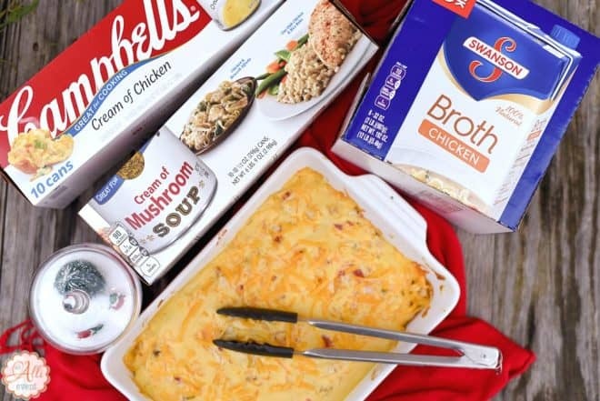 Stock up on Pantry Items to Make Baked Chicken Spaghetti
