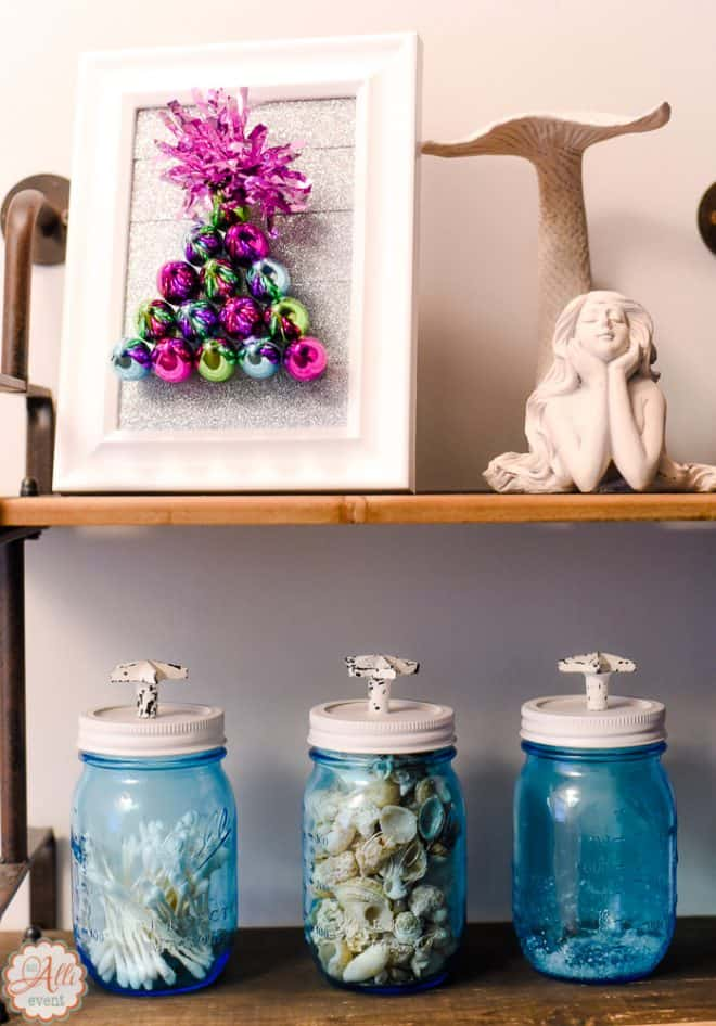 Holiday Craft featuring a Dollar Store Christmas Tree Craft
