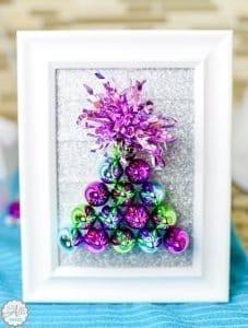Dollar Store Christmas Tree Craft