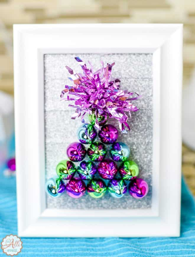 Dollar Store Christmas Tree Craft