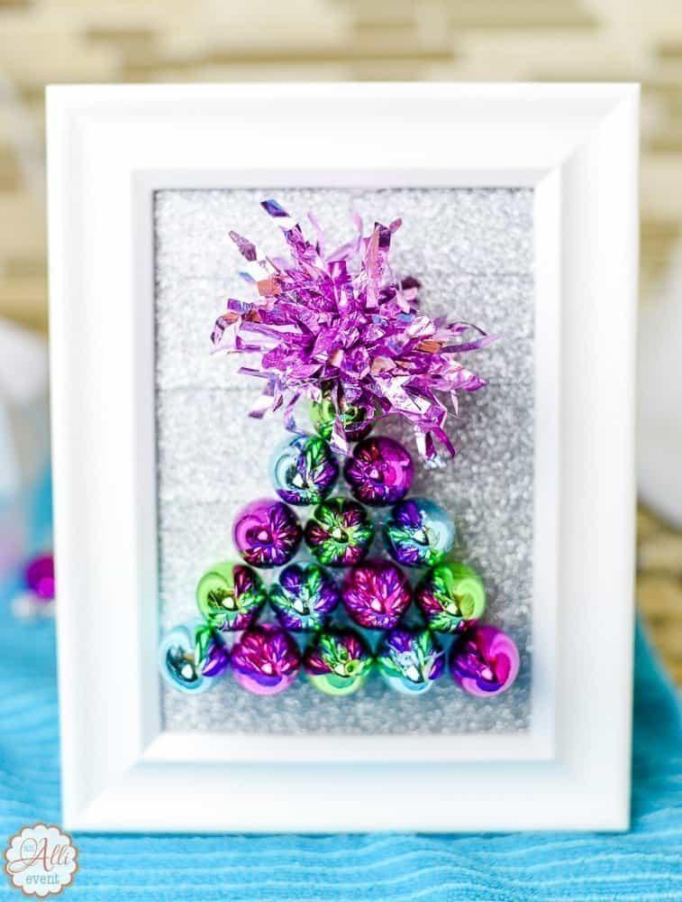dollar store christmas tree craft - Dollar Store Christmas Tree