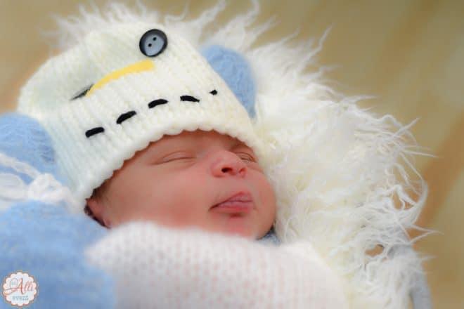 Newborn Baby Photos - Closeup