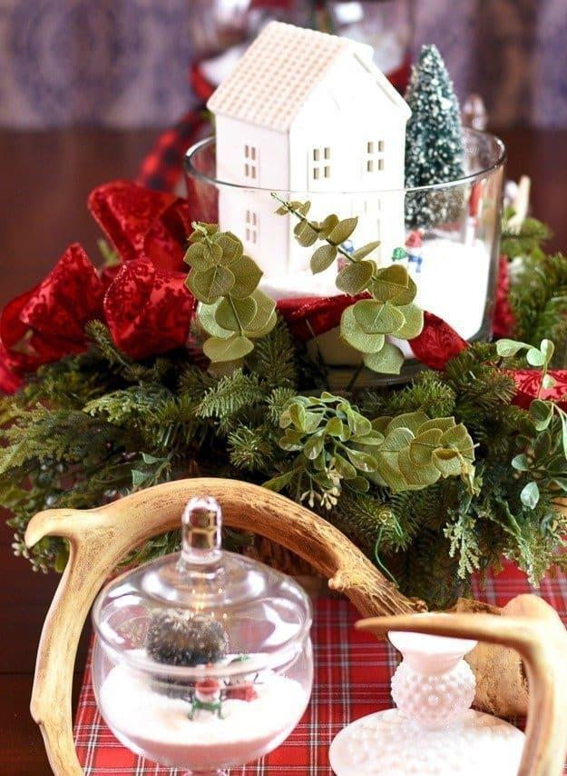 Easy Wonderland Holiday Table