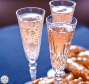 Easy Faux Pink Champagne