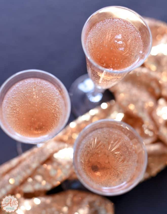 Faux Pink Champagne is bubbly and delicious