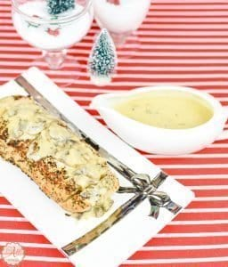 Pan-Seared Pork Tenderloin with Cheese Sauce