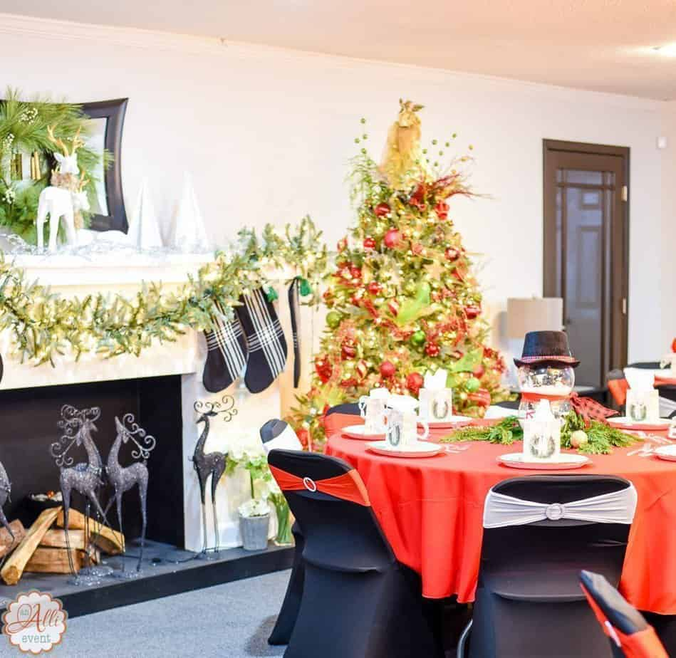 step into christmas ideas for large group parties