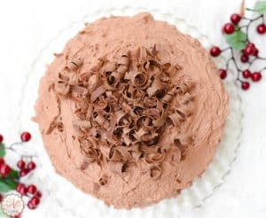 My Favorite Cake - Triple Chocolate Mousse Cake