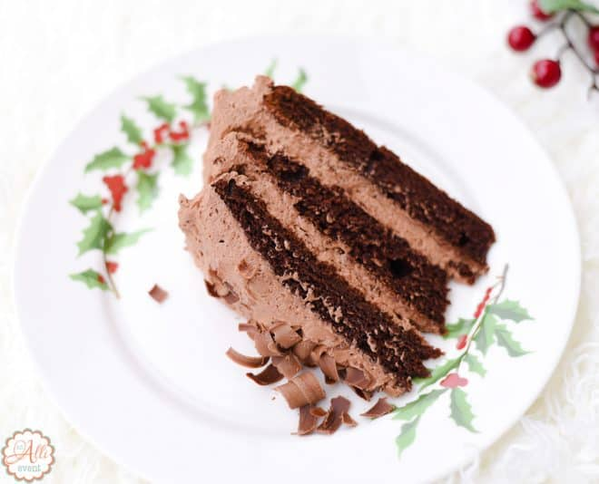 How to Make Triple Layer Chocolate Mousse Cake