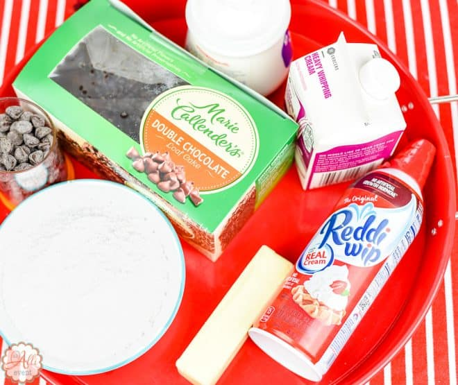 Whip up the filling for Whoopie Pie Cake