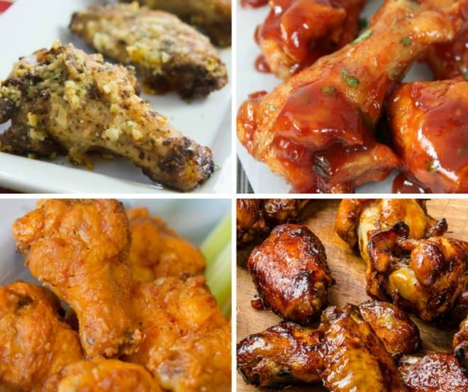 Be ready for game day with these delicious game day wing recipes