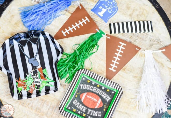 Party Decor for Football Party