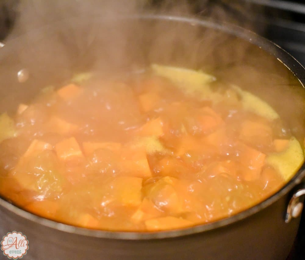 How to make delicious sweet potato soup an alli event for How to make delicious sweet potatoes