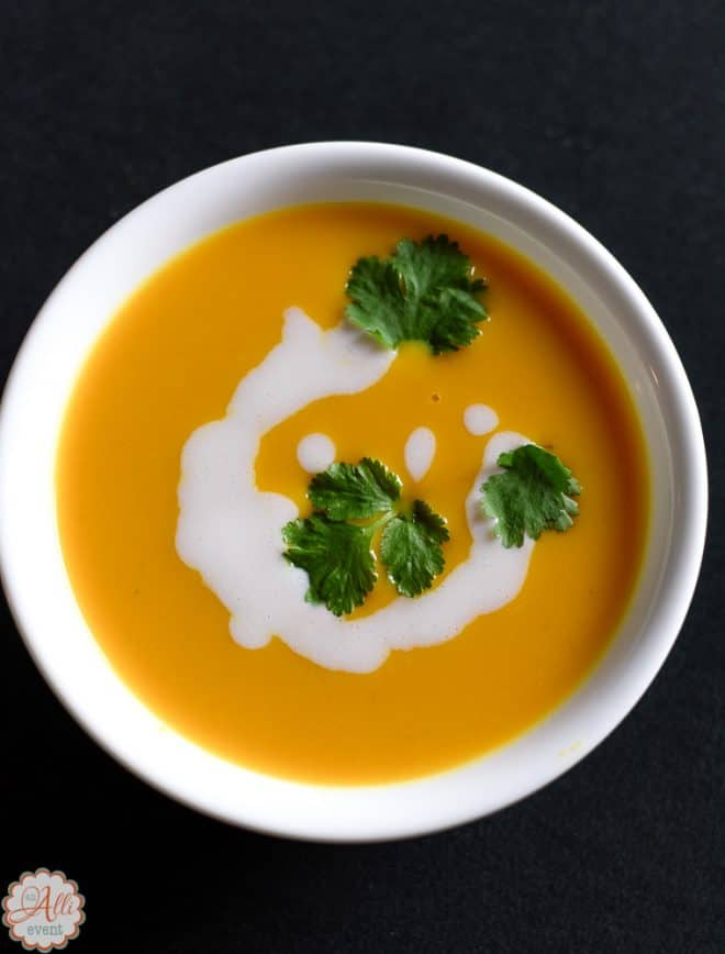 Delicious Bowl of Sweet Potato Soup