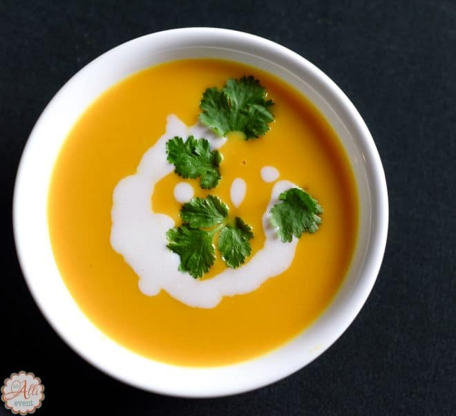 Sweet Potato Soup is delicious and not hard to make.